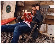 ¡Vampiros leyendo!