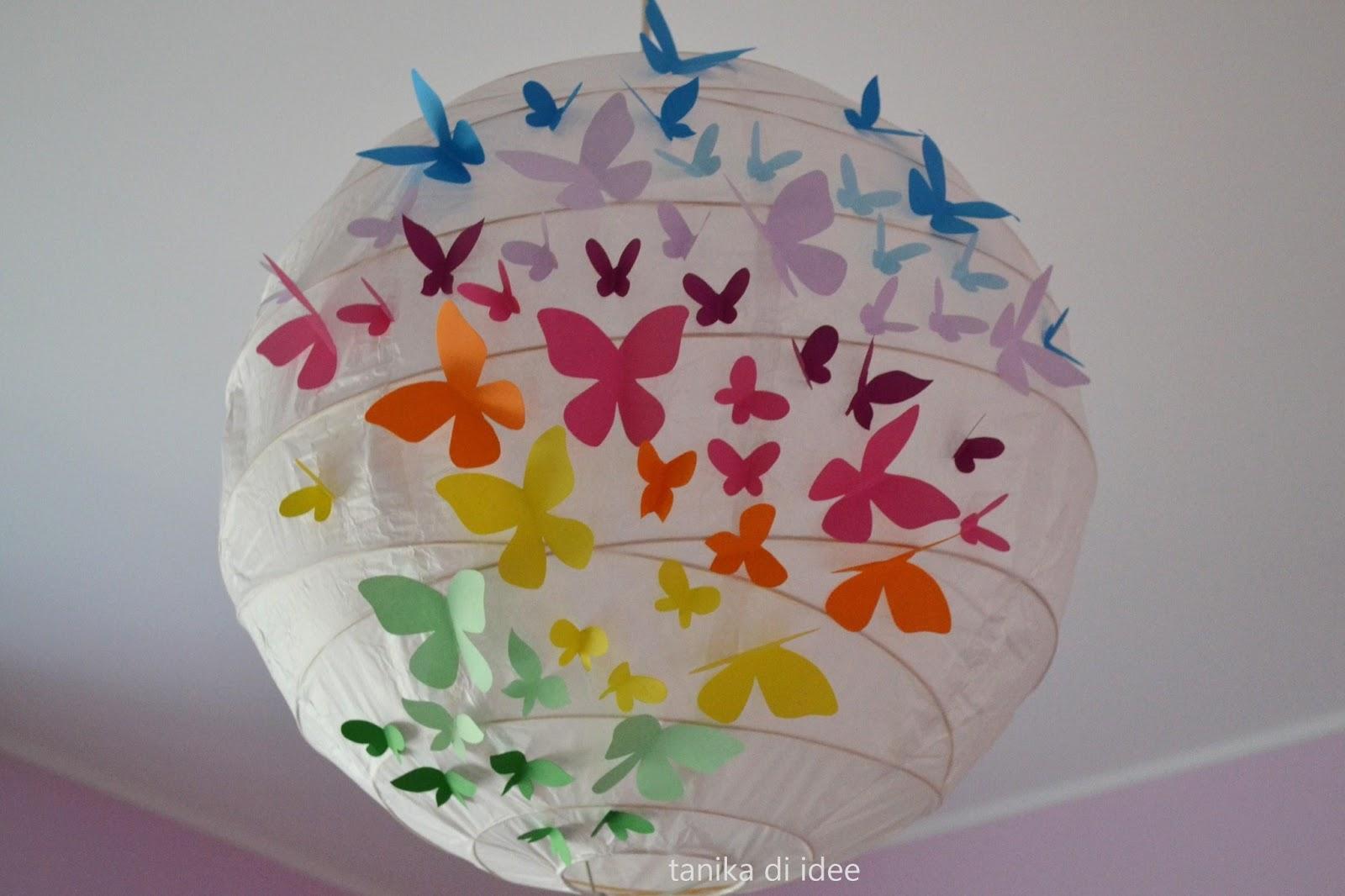 lampadario carta : Tanika di Idee: Come decorare un lampadario di carta...