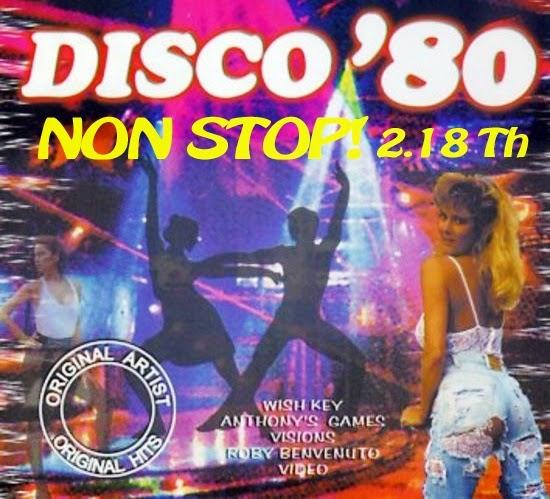 Сборник оригинальных видеоклипов 70-80 годов в стиле Диско Super Disco 80 Non Stop!