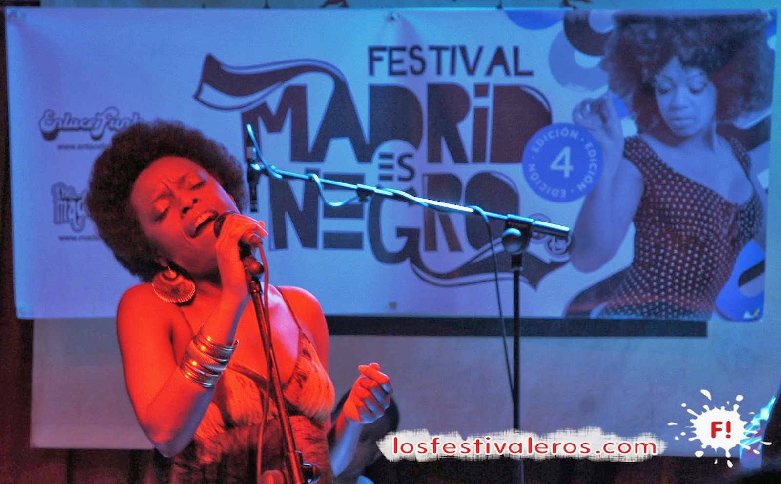 Astrid Jones, The Blue Flaps, Festival, Madrid es Negro, Sala El Sol, Concierto, Directo