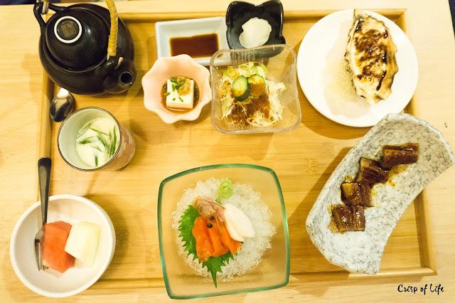 Unagi and Sashimi Set Kirishima Japanese Restaurant Cititel Penang