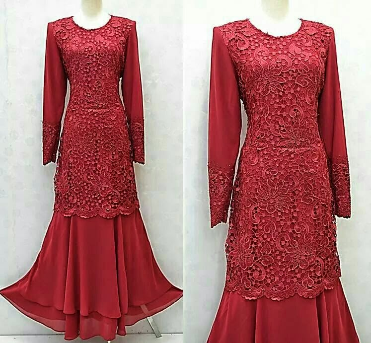 Baju Dress Muslimah Ala Mawar Online Terkini