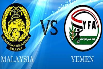 Live Streaming Malaysia vs Yemen 22 Mac 2013 - Kelayakan Piala Asia 2015