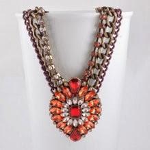 Anna Karenina in Red necklace from Astrid & Miyu - £39