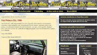 Anúncios Classificados do Portal Bom Jardim