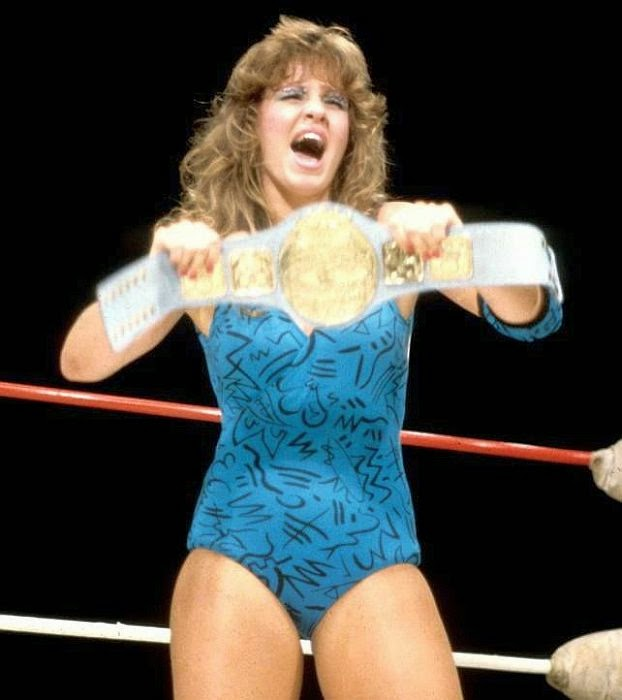 Wendi Richter - Female Wrestling
