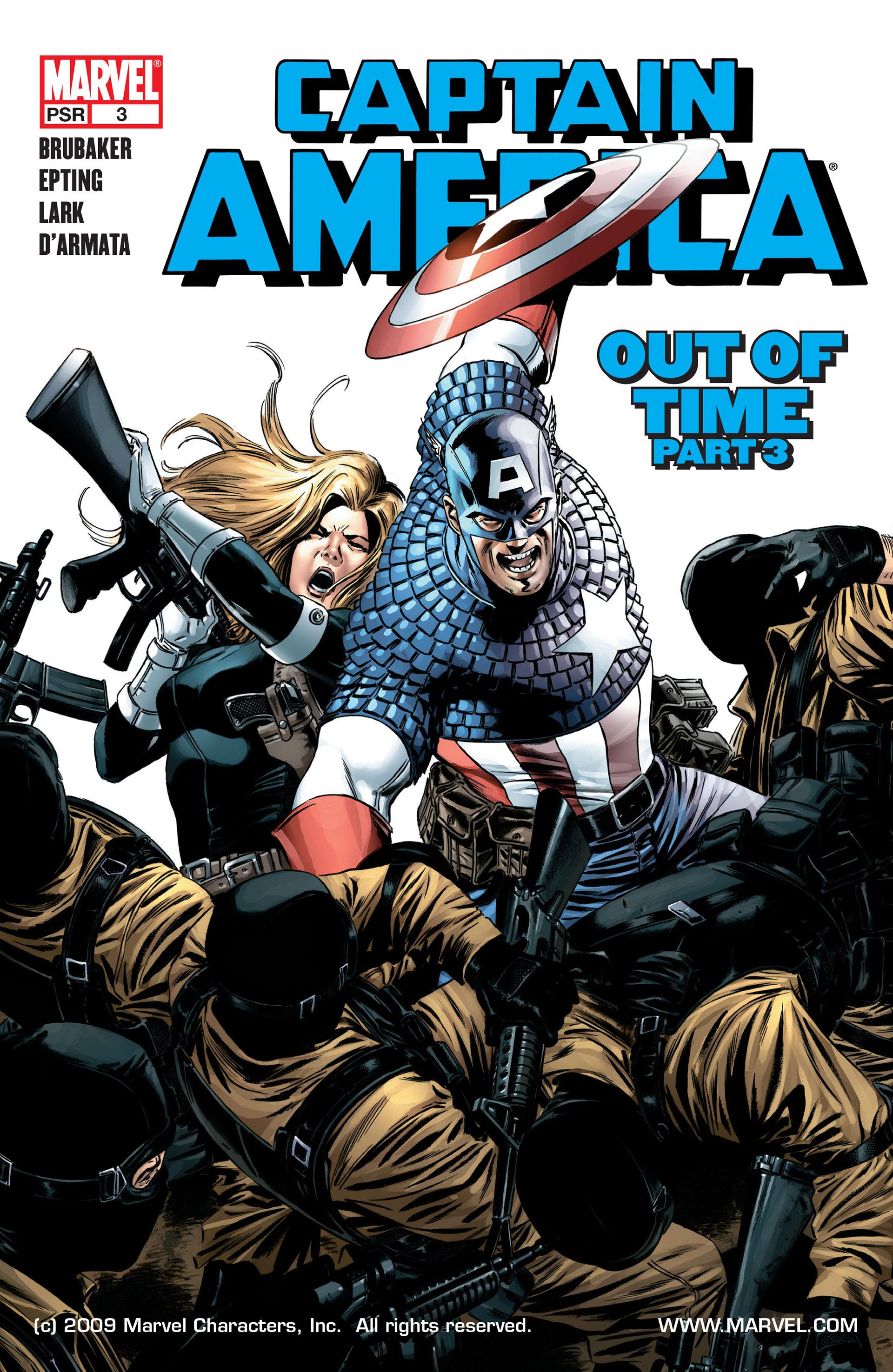 Captain America (2005) Issue #3 #3 - English 1