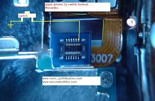 iphone 2gs power button jumper