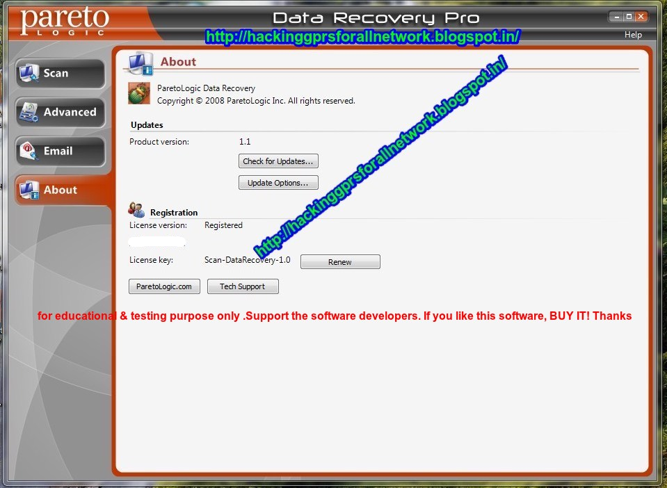 Crack For Paretologic Data Recovery - картинка 2