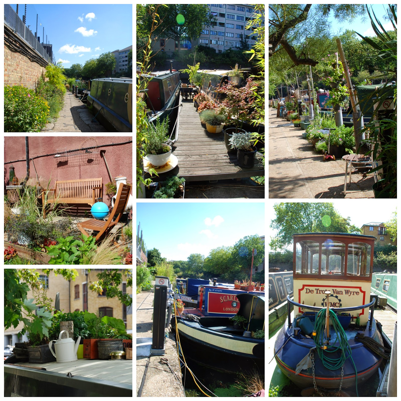 Lisson Grove Moorings,Regent's Canal, London