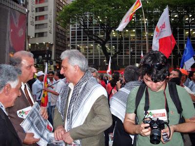 Ato histórico em São Paulo pelo Estado da Palestina Já - foto 12
