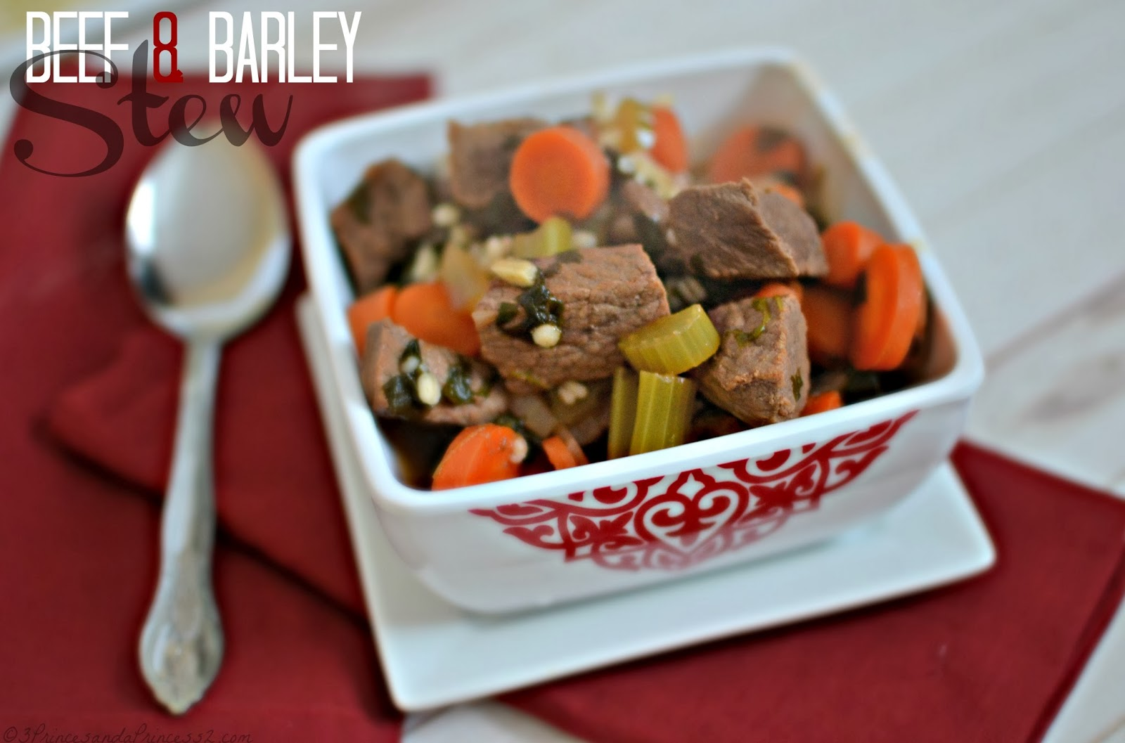 Beef Stew and Barley #RecipeRehab #beef #mc (sponsored)