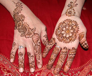 Beautiful Henna Hand Design