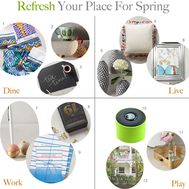Spring Home: Redecorate Your Space
