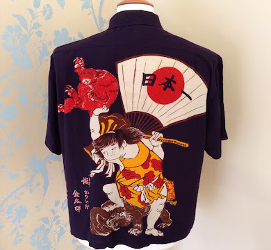Evisu vintage samurai t-shirt
