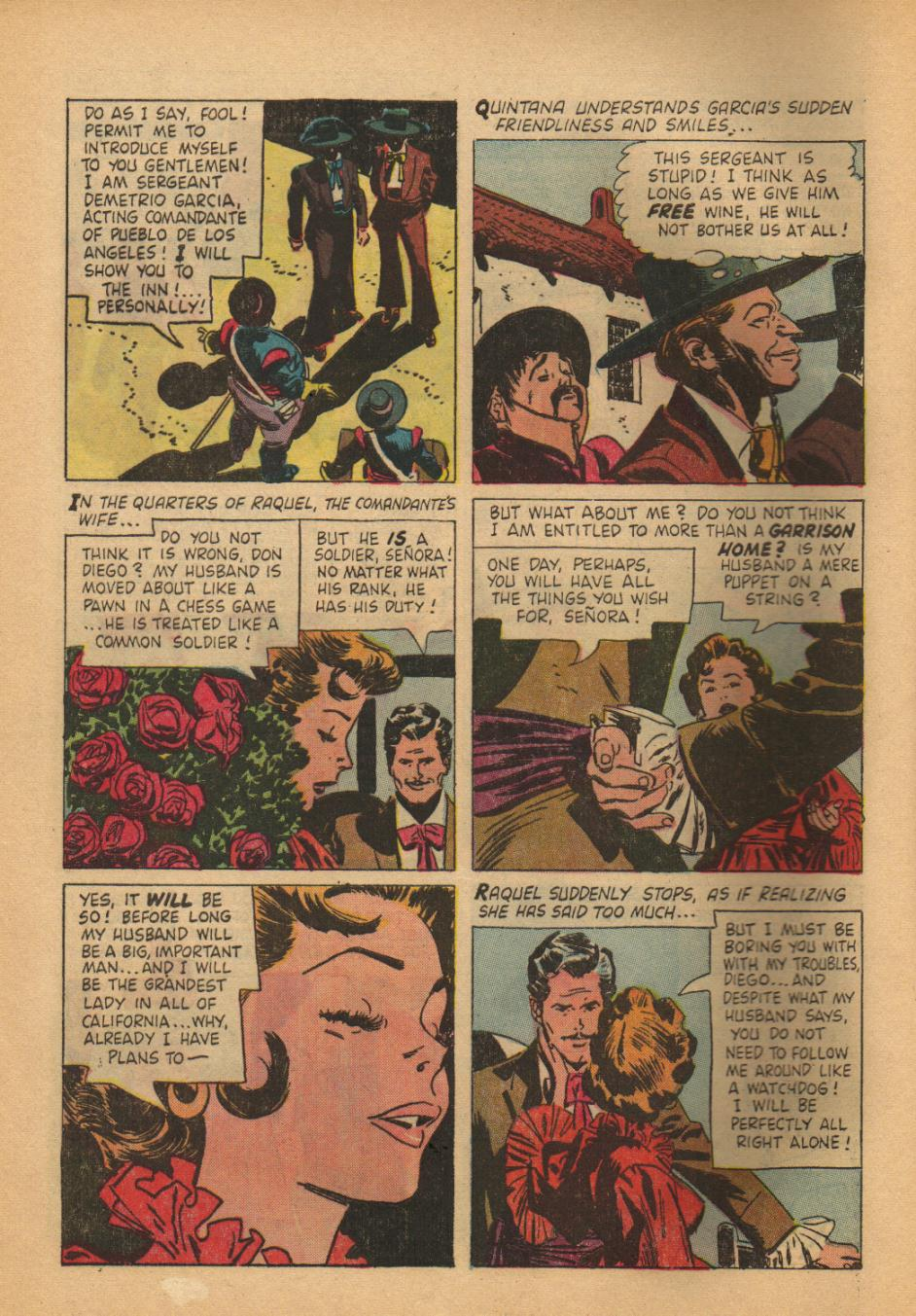 Zorro (1966) Issue #2 Page 8