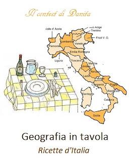 Geografia in tavola