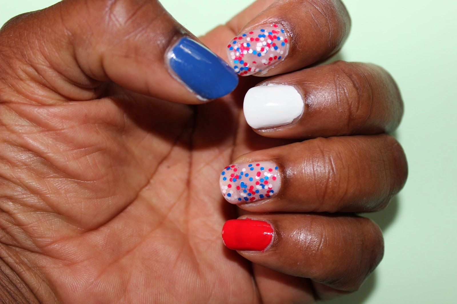 nailart spécial Equipe de France, French team, les Bleus, mondial 2014, football, maquillage, soccer
