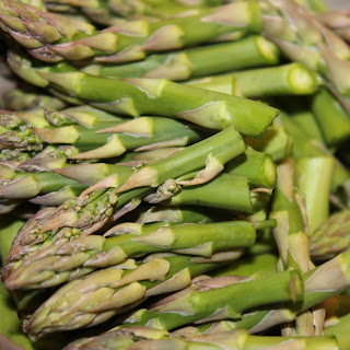 how to cut asparagus for pasta