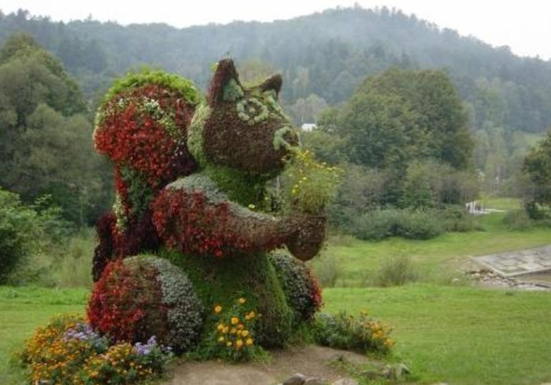 Animals in Grass Art