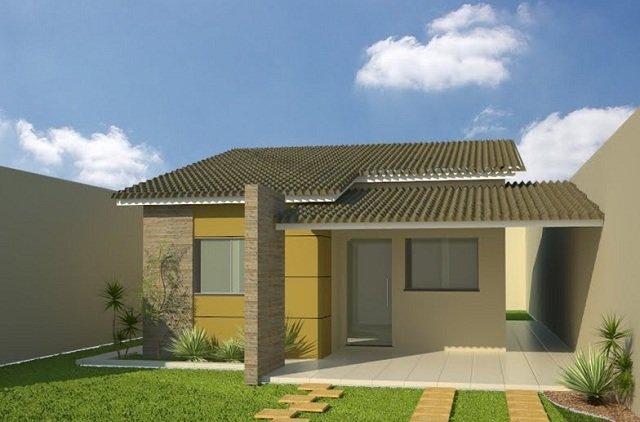 Fachadas de casas simples fachadas de casas y casas por - Casas y casas ...