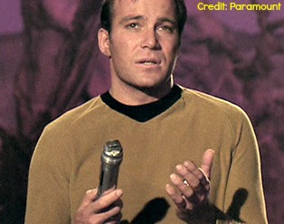 Universal Translator in Star Trek (with Kirk)