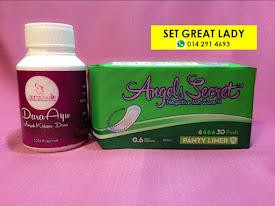 Set Great Lady (Keputihan atau Tiub Tersumbat)