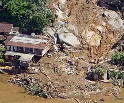 Glissement de terrain Brésil