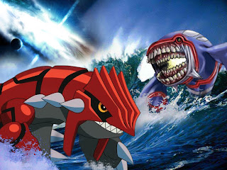 Kyogre Groudon Rayquaza Fusion Art And Design Graphic Images Pokemon Vs