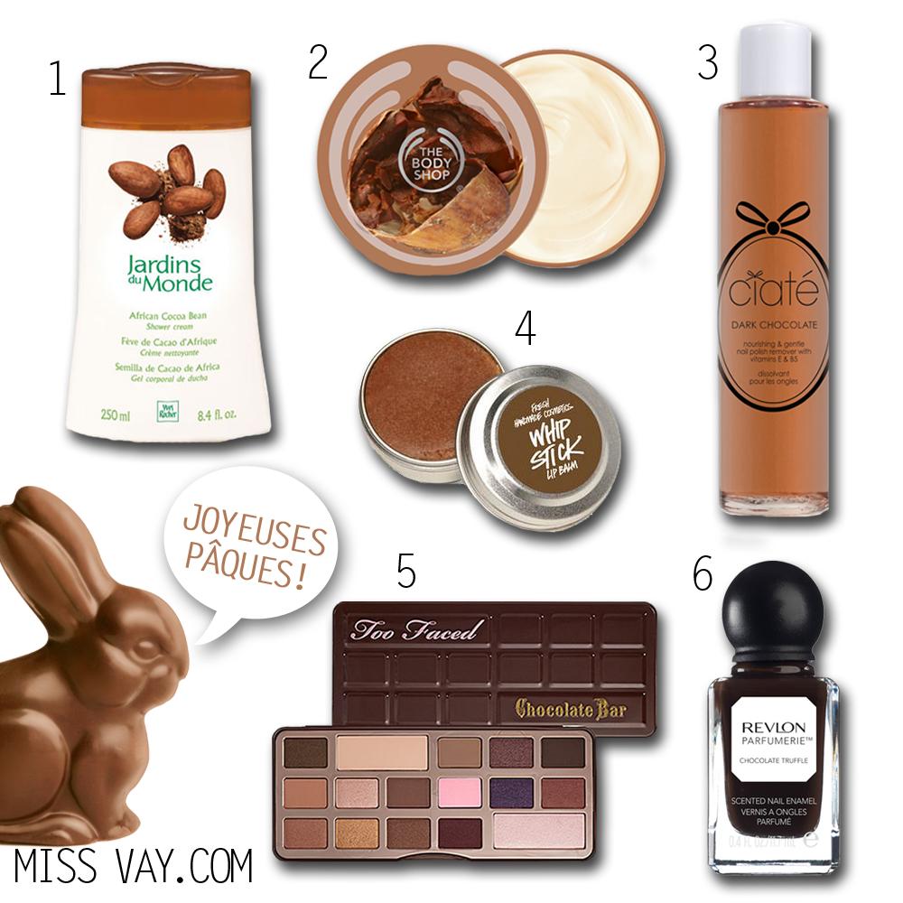 """Inspiration """"chocolat"""" pour Pâques"""