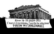 PARTECIPA AL FORUM DI ATENE  26-28 giugno