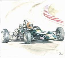 Lotus 69 Ford, 1971