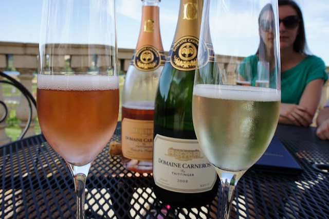 Sparkling wines at Domaine Carneros