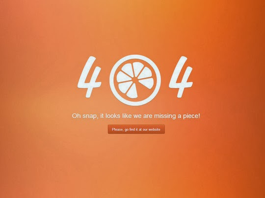 Examples Of Inspiring 404 Error Pages For Inspiration