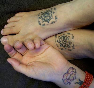 Tattoo vorlage Buddhistische Zeichen