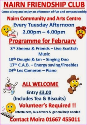 Friendship Club February