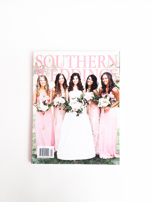 Mama Bleu Designs featured in Southern Wedding Magazine