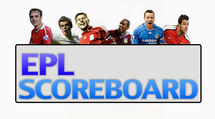 Knoxtainment epl scoreboard table standings 22nd for Epl table 99 00