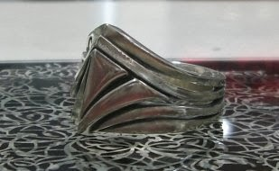 OZ Abstract - Secret Society Pyramid Ring