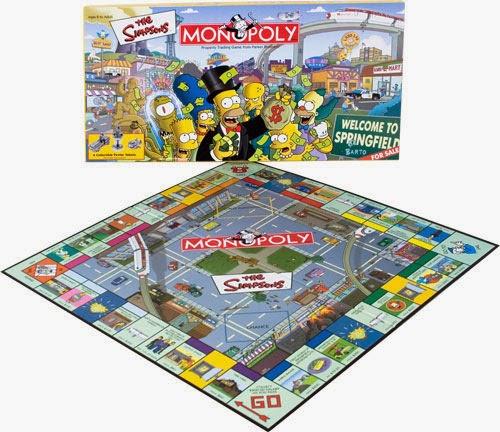 Juego Monopoly Los Simpson