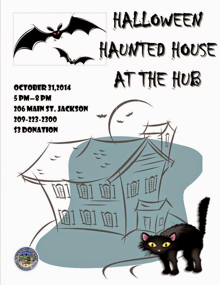 Haunted House at the Hub - Fri Oct 31