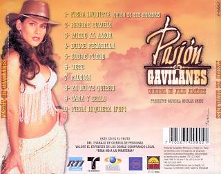 DE COLOMBIA: BANDA SONORA DE PASION DE GAVILANES - PASION DE GAVILANES