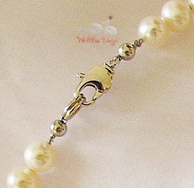 Lobster Clasp for Pearl Necklace by WireBliss