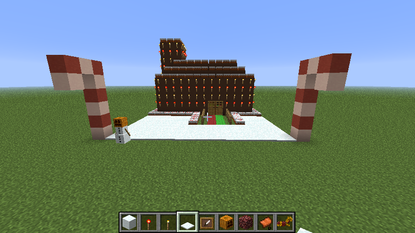 cjhsaparrish.19: Minecraft Gingerbread House