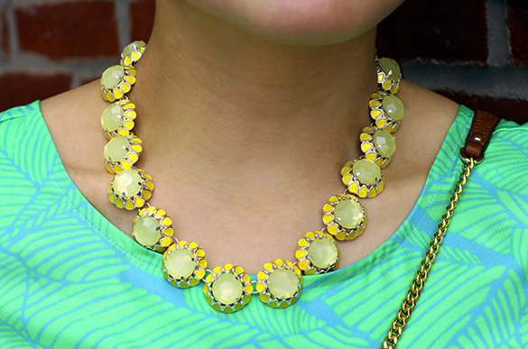 BaubleBar Lemon Bloom Strand