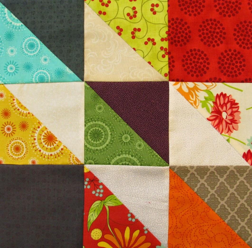 how to piece a quilt block Autumn Trials Quilt Pattern Tutorial