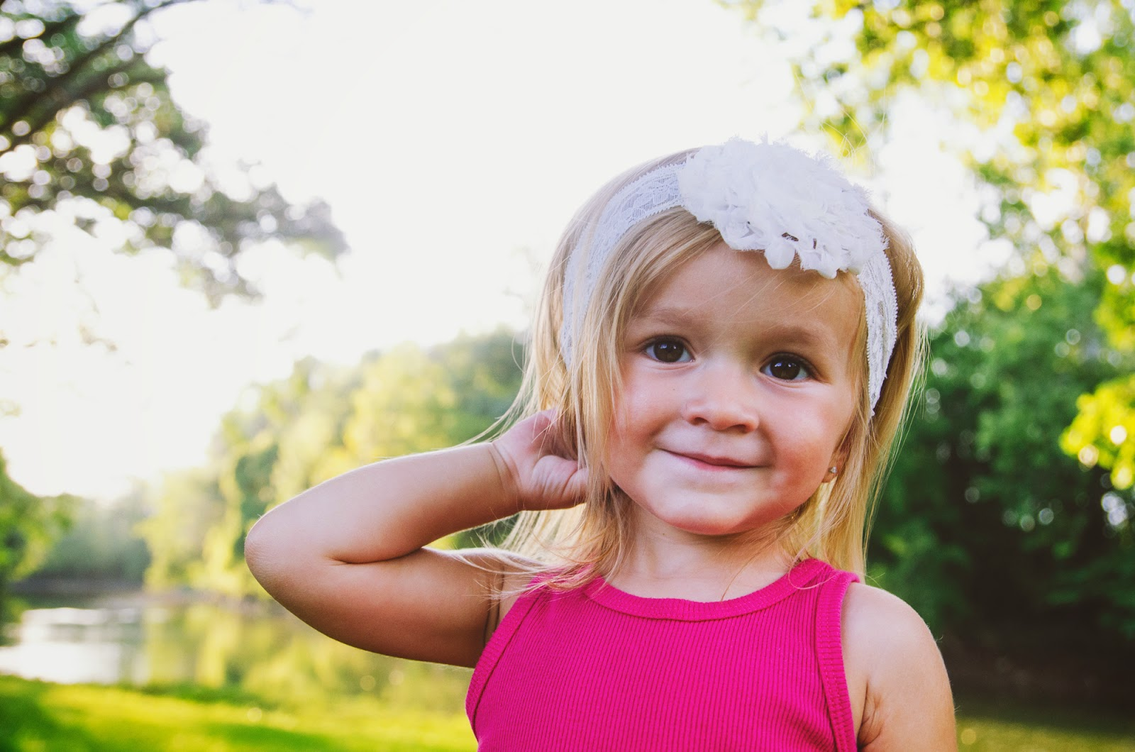 sweet boho toddler at her indianapolis family photography session