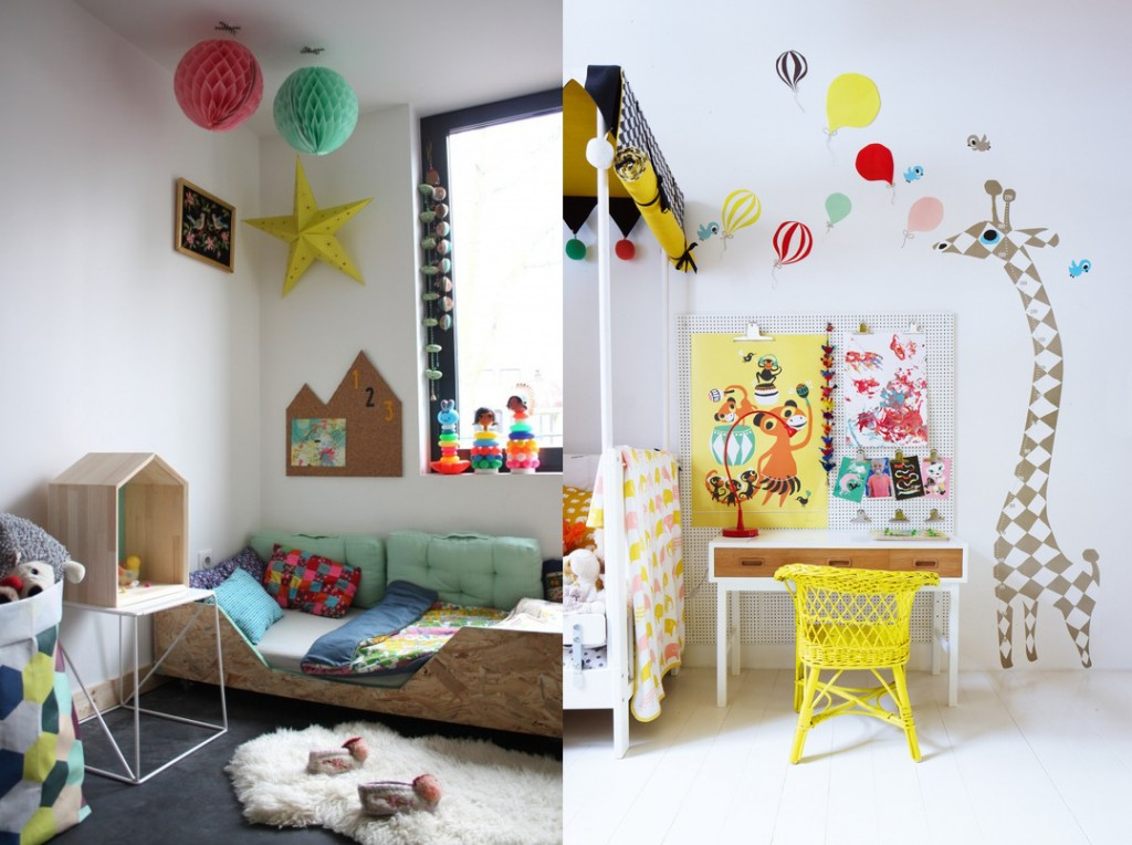 Fate home relookers children 39 s room ideas for Camera ikea bambini