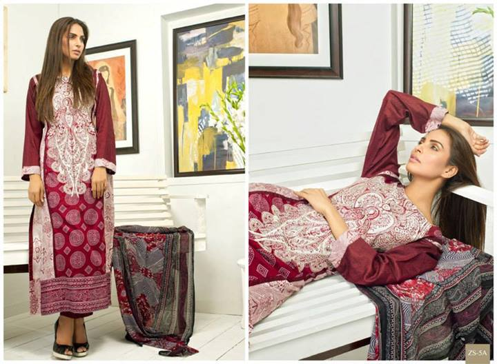 Pehnawa+Eid+Dress+Latest+Collection+by+ZS+Textiles+(9) Latest Pehnawa Eid Dresses by ZS Textiles