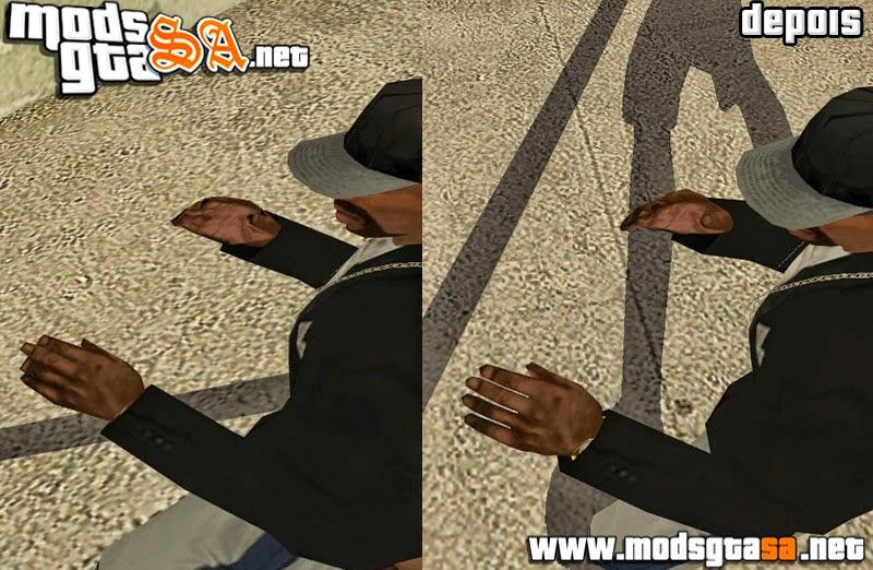 SA - Mãos com Dedos Separados (Versão Mobile)